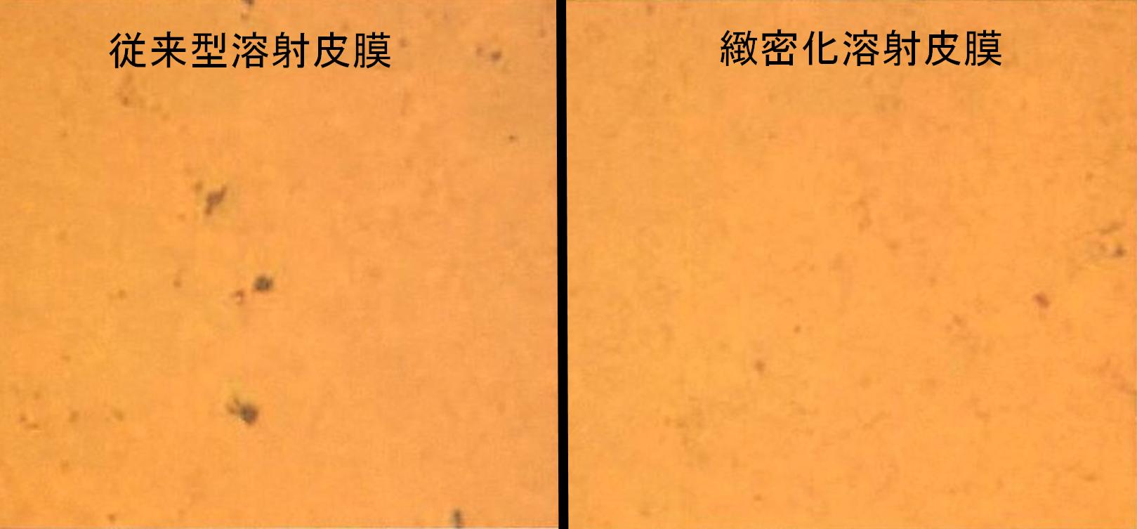超鏡面溶射 緻密皮膜化